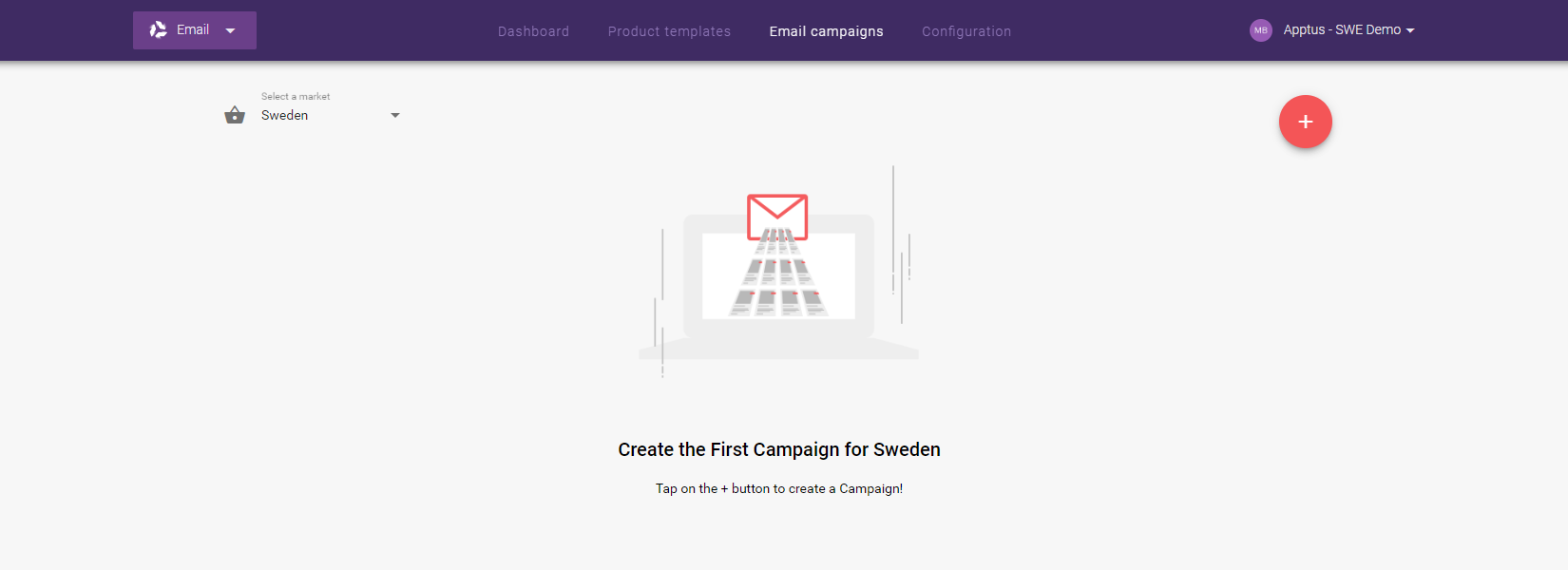 Email Recommendations - Email campaigns - Home